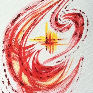 5/30 Napi festmény, Képzőművészet, Otthon & lakás, Festmény, Napi festmény, kép, Dekoráció, Festészet, 11x15  cm-es akril festmény.\n\nEcsettel és festőkéssel készült.\nEredeti, egyedi festmény, másolat, ny..., Meska