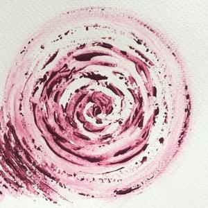 8/30 Napi festmény, Akril, Festmény, Művészet, Festészet, 11x15  cm-es akril festmény.\n\nEcsettel és festőkéssel készült.\nEredeti, egyedi festmény, másolat, ny..., Meska