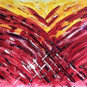 15/30 Napi festmény, Képzőművészet, Otthon & lakás, Festmény, Napi festmény, kép, Dekoráció, Festészet, 11x15  cm-es akril festmény.\n\nEcsettel és festőkéssel készült.\nEredeti, egyedi festmény, másolat, ny..., Meska