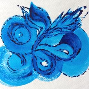 22/30 Napi festmény, Napi festmény, Festmény, Művészet, Festészet, 12x15  cm-es akril festmény.\n\nEcsettel és festőkéssel készült.\nEredeti, egyedi festmény, másolat, ny..., Meska