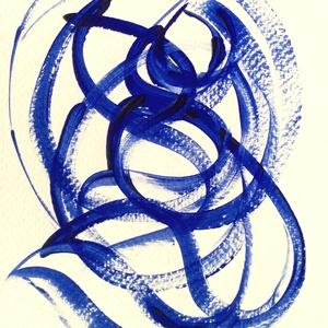 �Kékség-M- festmény - Meska.hu