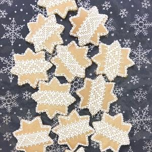Karácsonyi mézeskalács, Élelmiszer, Édesség, Mézeskalácssütés, Mézeskalács karácsonyra.\nAkár külön csomagolva is.\nMérete:7,5 cm, Meska