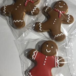 Karácsonyi mézeskalács , Élelmiszer, Édesség, Mézeskalácssütés, Mérete:9 cm\nA csomag 3 db _ot tartalmaz.\nHa több db-ra lenne szükség kérlek jelezd előre üzenetben, ..., Meska
