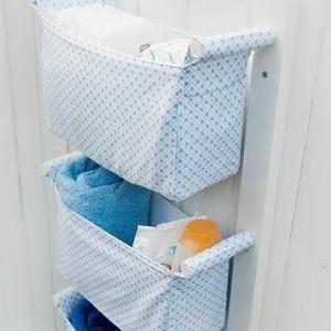 Textil tároló PRÉMIUM - Falra szerelhető - Gyönyörű designer tároló otthonodba - Előszobai, fürdőszobai tárolásra (OdorsHome) - Meska.hu