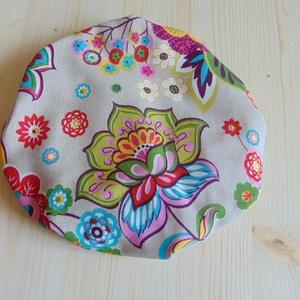Mosható textil edényfedő / textil tányérfedő, edényfedő, ételsapka, alufólia és folpack helyettesítő , Otthon & Lakás, Konyhafelszerelés, Edényfogó & Edényfedő, Varrás, Mosható textil ételfedő/ edényfedő. Színes virág mintás.\n\nA gumírozás miatt ezek az textilfedők alka..., Meska