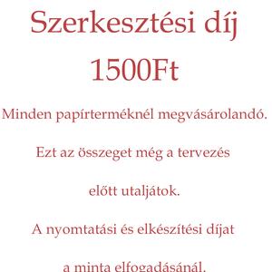Szerkesztési díj - Meska.hu