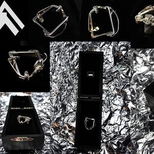 Tipech, Vékony gyűrű, Gyűrű, Ékszer, Ékszerkészítés, Ötvös, Au ~0.04gramm\nAg ~7.32gramm\nHordható gyűrűméret/kerület ~5.5cm\n+ Egyedih ėkszerdoboz\nÁltalam kėszítv..., Meska