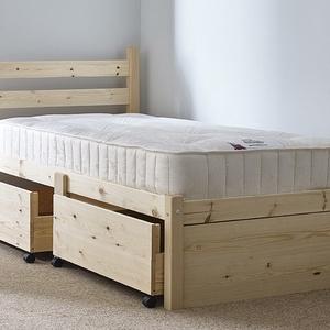 Fenyő ágy, 2db kihúzható ágyneműtartóval., Ágy, Bútor, Otthon & Lakás, Famegmunkálás, Fenyő ágy, 2db kihúzható ágyneműtartóval.\n\nEgyedi elképzelés alapján is gyártunk ágyat.\n\nÁgyat csak ..., Meska