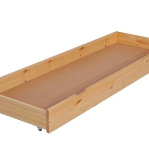 Gurulós ágyneműtartó fiók., Ágy, Bútor, Otthon & Lakás, Famegmunkálás, Az ágyakhoz gurulós ágyneműtartó fiók is rendelhető, magasságát az ágykeret magassága határozza meg...., Meska