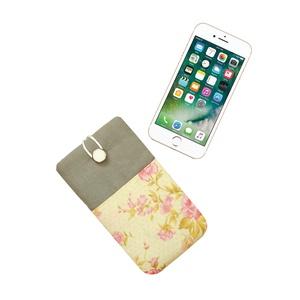 """Slide 5\"""" - Rózsák - Textil Mobil Tok, Táska, Táska, Divat & Szépség, Pénztárca, tok, tárca, Mobiltok, Varrás, Univerzális 5\""""-os mobiltok.\n\nNagyon vidám, nőies, feltűnő darab! Finom, puha minőségi textilből kész..., Meska"""