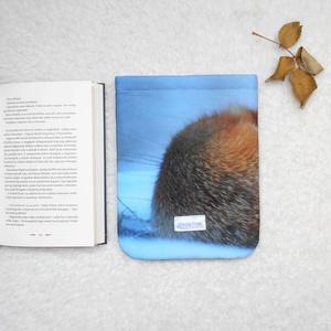 RÓKA - Könyv Védő Tok, Könyvölelő, Könyvvászon - VÁLASZTHATÓ MÉRET! - táska & tok - laptop & tablettartó - ebook & tablet tok - Meska.hu
