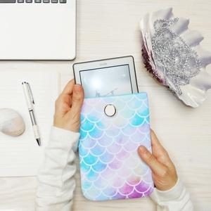 """HABLEÁNY 6\""""-12\"""" - Textil Kindle / E-book tok / Tablet tok - VÁLASZTHATÓ MÉRET!, Ebook & Tablet tok, Laptop & Tablettartó, Táska & Tok, Varrás, Ugye Te is vigyázol, hogy ne sérüljön, karcolódjon össze a géped? Legnagyszerűbb megoldás egy ilyen ..., Meska"""