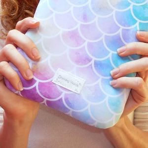 HABLEÁNY 6-12 - Textil Kindle / E-book tok / Tablet tok - VÁLASZTHATÓ MÉRET! - táska & tok - laptop & tablettartó - ebook & tablet tok - Meska.hu
