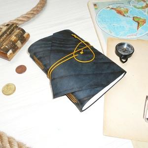 ' Viking ' Lyukacsos, erősen Antik Bőr Napló / Journal A6 MÉRETŰ - Szimbólummal, Égetett első lappal (kunbea) - Meska.hu