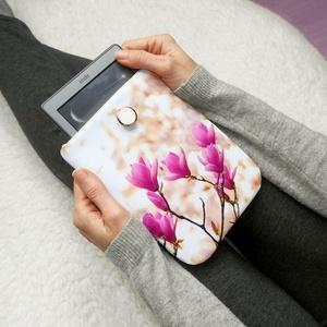 """TULIPÁNFA 6\"""" -  Textil Kindle / E-book tok, Ebook & Tablet tok, Laptop & Tablettartó, Táska & Tok, Varrás, Ugye Te is vigyázol, hogy ne sérüljön, karcolódjon össze a géped? Legnagyszerűbb megoldás egy ilyen ..., Meska"""