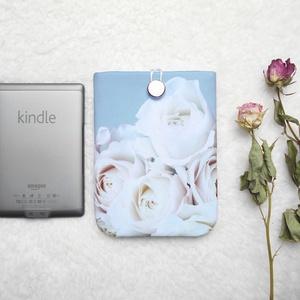 """RÓZSÁK 6\"""" -  Textil Kindle / E-book tok, Ebook & Tablet tok, Laptop & Tablettartó, Táska & Tok, Varrás, Ugye Te is vigyázol, hogy ne sérüljön, karcolódjon össze a géped? Legnagyszerűbb megoldás egy ilyen ..., Meska"""