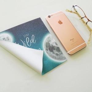 HOLD mintás feliratos vastag anyagú mikroszálas törlőkendő szemüvegre, mobiltelefonra, tabletre (kunbea) - Meska.hu