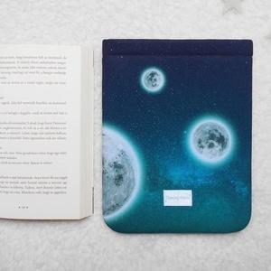HOLD GYERMEKE - Könyv Védő Tok, Könyvölelő, Könyvvászon - NORM�L MÉRET!!! (kunbea) - Meska.hu
