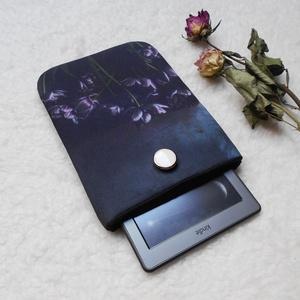 """Black Valentine 6\""""-12\"""" - Textil Kindle / E-book tok / Tablet tok - VÁLASZTHATÓ MÉRET!, Ebook & Tablet tok, Laptop & Tablettartó, Táska & Tok, Varrás, Ugye Te is vigyázol, hogy ne sérüljön, karcolódjon össze a géped? Legnagyszerűbb megoldás egy ilyen ..., Meska"""
