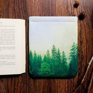 ERDŐ - Könyv Védő Tok, Könyvölelő, Könyvvászon - NORMÁL MÉRET!!!, Táska, Táska, Divat & Szépség, Pénztárca, tok, tárca, Varrás, Ez a puha KÖNYV - ÖLELŐ megvédi a kedvenc olvasmányaidat!\n\nTe is egy igazi könyvmoly vagy? Mindig a ..., Meska