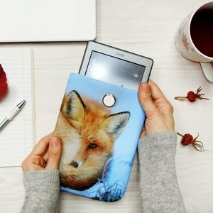 """MR. FOX 6\""""-12\"""" -  Textil Kindle / E-book tok / Tablet tok - VÁLASZTHATÓ MÉRET!, Ebook & Tablet tok, Laptop & Tablettartó, Táska & Tok, Varrás, Ugye Te is vigyázol, hogy ne sérüljön, karcolódjon össze a géped? Legnagyszerűbb megoldás egy ilyen ..., Meska"""