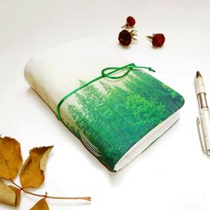\' ERDŐ \' Puha Textil borítású Napló A6, Jegyzetfüzet & Napló, Papír írószer, Otthon & Lakás, Könyvkötés, Gyönyörű notesz naplóíráshoz! Férfiaknak, Nőknek egyaránt ajánlom!\n\n°°°°°°°°°°°°°°°°°°°°°°°°°°°°°°°°..., Meska