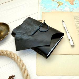 \' Mjölnir - THOR Kalapácsa \' Antik Bőr Napló A6 - Szimbólummal - Tépett első lappal, Otthon & Lakás, Papír írószer, Jegyzetfüzet & Napló, Bőrművesség, Könyvkötés, Antik stílust kedvelőknek! \n\nAz első oldalon egy Viking jelképpel:\n-  neve Mjölnir - THOR Kapalácsa ..., Meska