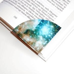 ' CSILLAGKÖD ' Könyvjelző 2db, Otthon & Lakás, Papír írószer, Könyvjelző, Varrás, Meska