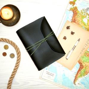 ' Indiana Jones ' Műbőr Napló A5, Otthon & Lakás, Papír írószer, Jegyzetfüzet & Napló, Bőrművesség, Könyvkötés, Meska