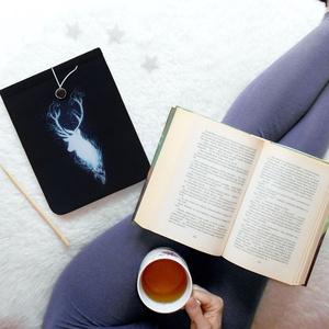 PATRÓNUS - Harry Potter Könyv Védő Tok, Könyvölelő, Könyvvászon - Meska.hu