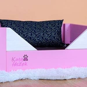 Loren tömör fa kutyaágy, Állatfelszerelések, Lakberendezés, Otthon & lakás, Kutyafelszerelés, Famegmunkálás, Festett tárgyak, Méretek:\nHosszúság: 40 cm\nSzélesség: 55 cm\nMagasság: 23 cm\n\nMinimalista design egy igazi Különlegess..., Meska