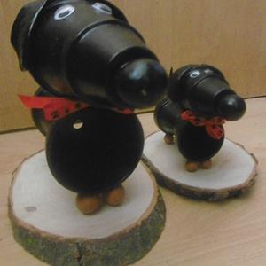 Gazdira várva! - Őrző-védő tacskó - cseréptacsi - kutya - kerti dekoráció - home design (KyBarbi) - Meska.hu