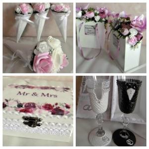Luxus esküvői csomag - esküvői dekorációk, kellékek - pazar esküvő (KyBarbi) - Meska.hu