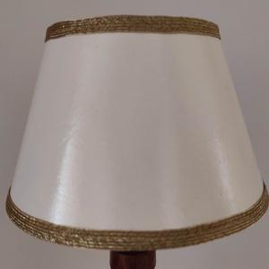 """Papír lámpaernyő \""""trapéz\"""", Otthon & Lakás, Lámpa, Asztali lámpa, Mindenmás, Fémmegmunkálás, A képen látható lámpaernyő azonnal elvihető. \nMérete: 8×13 cm\n\nEgyedi ötleted van? Esetleg más mintá..., Meska"""
