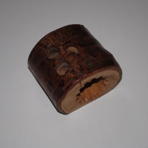 Fa írószertartó közepes, Otthon & Lakás, Tárolás & Rendszerezés, Íróasztali tároló, Famegmunkálás, A képeken látható egyedi fa írószertartók azonnal elvihetőek.\nVizes bázisú lakkal teszem szebbé és t..., Meska
