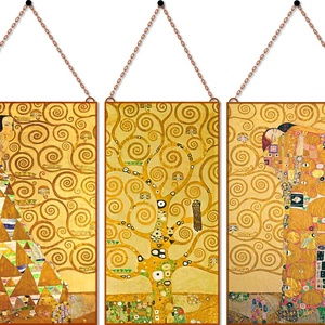 Gustav Klimt - Várakozás és beteljesedés (3 db-os garnitúra) - Meska.hu
