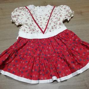 Szatmári jellegű ruha (56-98-as méret), Ruha & Divat, Ruha, Babaruha & Gyerekruha, Varrás, Meska
