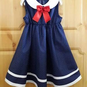 Egyedi készítésű kislány ruha (104-146-os méret), Ruha & Divat, Ruha, Babaruha & Gyerekruha, Varrás, Meska