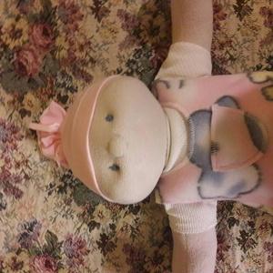 Középkék szemű Brigi baba, eredeti ruhában (ladyb) - Meska.hu