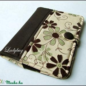 Barna-bézs  E-book tok  (ladybug67) - Meska.hu