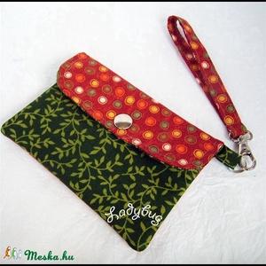 Leveles-pöttyös  mobiltok/pénztárca 2 in 1 (ladybug67) - Meska.hu