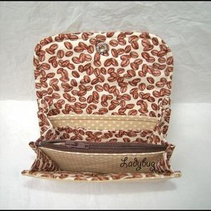 Kapucsinó pénztárca (ladybug67) - Meska.hu
