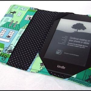 Macska a háztetőn  - Kindle tok (ladybug67) - Meska.hu