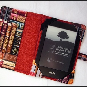 Könyv-tár - Kindle tok (ladybug67) - Meska.hu