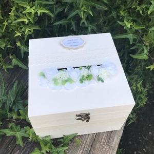 Nászajándék doboz (Lahome) - Meska.hu