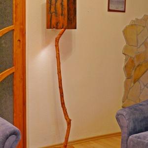 Fa állólámpa (Lampacsoda) - Meska.hu