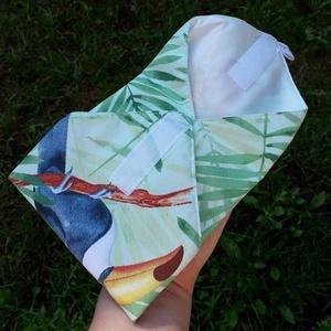 Tukános újraszalvéta (kicsi) - ovi- és sulikezdés - uzsonna- & ebéd tartó - szendvics csomagoló - Meska.hu