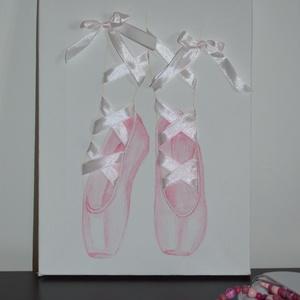 Balerina cipők fűzővel (Laneys) - Meska.hu