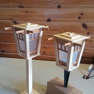 China mini leszúrható/lecsavarozható kerti lámpa (Larry35) - Meska.hu