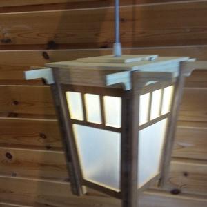 China függeszthető kültéri/beltéri bambusz lámpa (Larry35) - Meska.hu